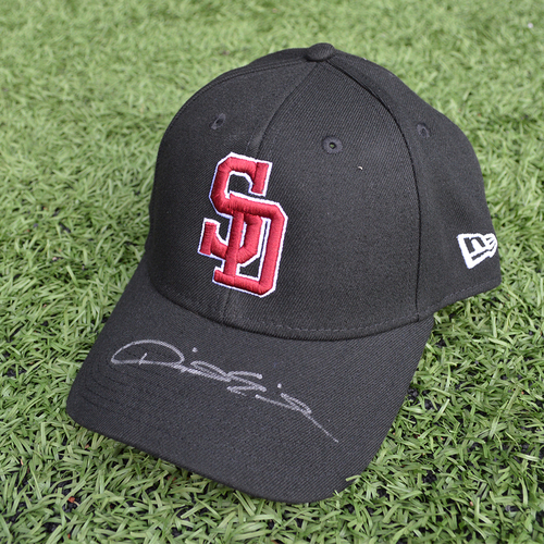 Photo of Charity Auction - Broward Education Foundation - Dave Eiland #58 - Autographed & Game-Used Marjory Stoneman Douglas High School Cap
