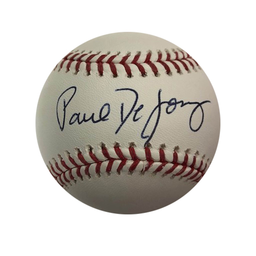 Photo of St. Louis Cardinals Paul DeJong Autographed Baseball