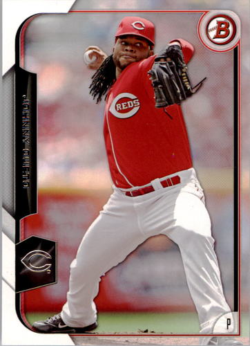 Photo of 2015 Bowman #102 Johnny Cueto