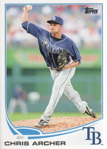 Photo of 2013 Topps Update #US320 Chris Archer