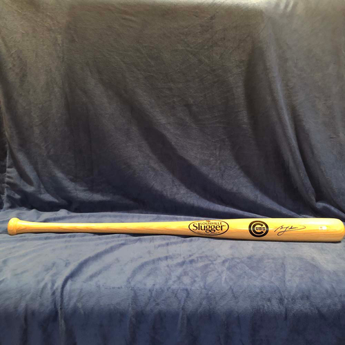 Photo of UMPS CARE AUCTION: Ben Zobrist Signed Bat