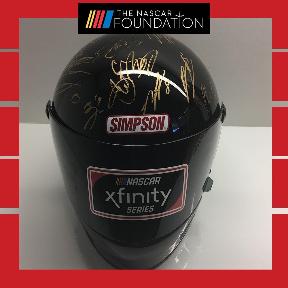 2019 NASCAR NXS Autographed Helmet from Phoenix!