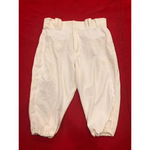 Photo of Michael Lorenzen -- Game-Used Pants -- 1902 & 1912 Throwback Games (Relief Pitcher: 1.1 IP, 3 K) -- Size: 33-41-17