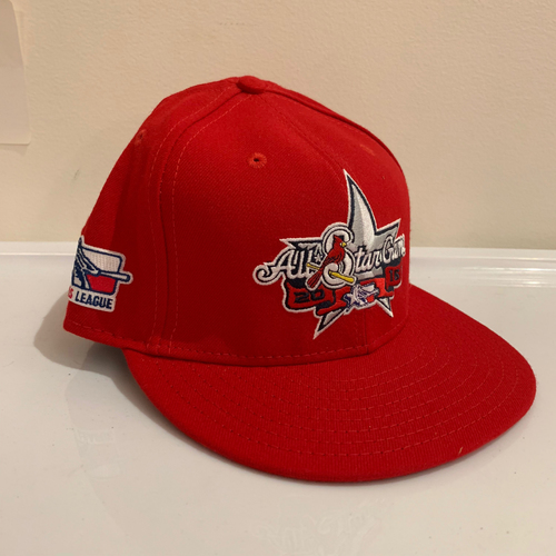 Photo of 2016 Texas League All Star Game -  Game Used Cap  - DJ Johnson (Los Angeles Angels) Size - 7 -3/8
