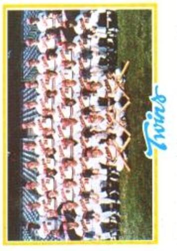 Photo of 1978 Topps #451 Minnesota Twins CL
