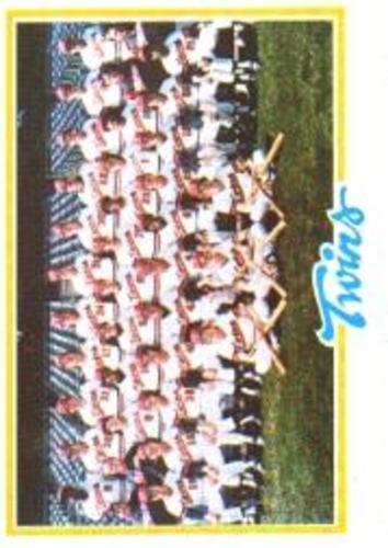 Photo of 1978 Topps #451 Minnesota Twins CL