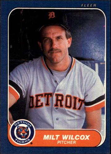 Photo of 1986 Fleer #243 Milt Wilcox