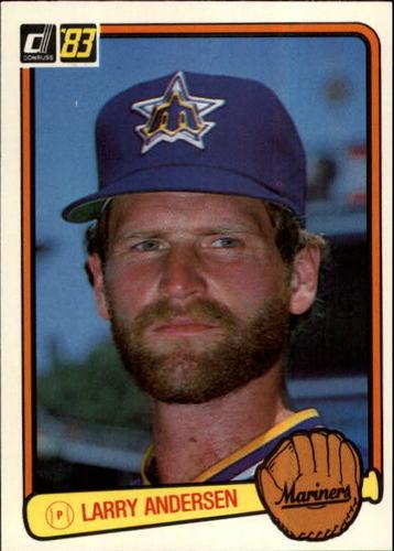 Photo of 1983 Donruss #181 Larry Andersen