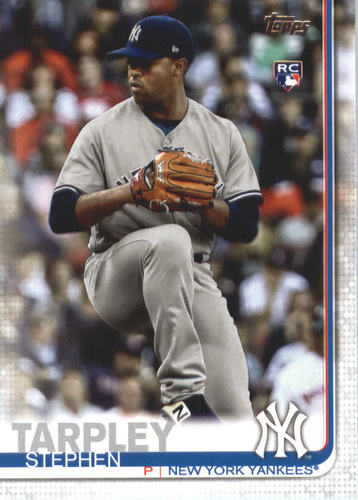 Photo of 2019 Topps #504 Stephen Tarpley RC