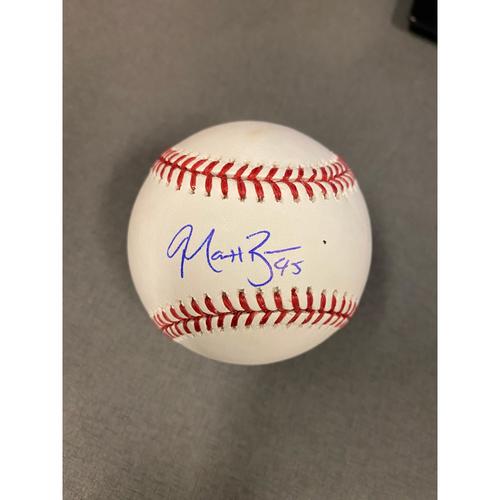 Photo of Matt Beaty Authentic Autographed Baseball
