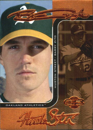 Photo of 2006 Topps Co-Signers Changing Faces Bronze #63A Barry Zito/Huston Street