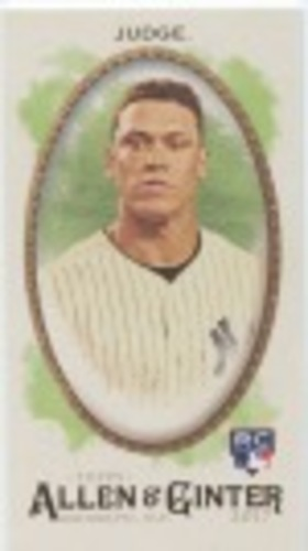 Photo of 2017 Topps Allen and Ginter Mini #172 Aaron Judge