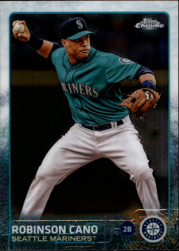 Photo of 2015 Topps Chrome #173 Robinson Cano