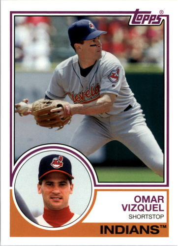 Photo of 2015 Topps Archives #251 Omar Vizquel