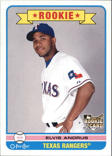 Photo of 2009 O-Pee-Chee #583 Elvis Andrus RC