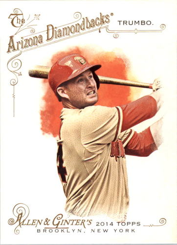 Photo of 2014 Topps Allen and Ginter #28 Mark Trumbo