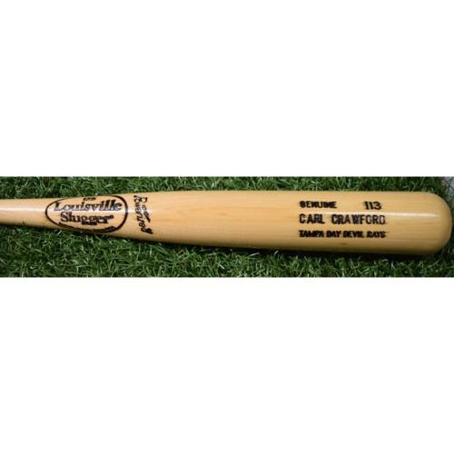 Photo of Rays Baseball Foundation Auction: Carl Crawford Louisville Slugger Model Bat