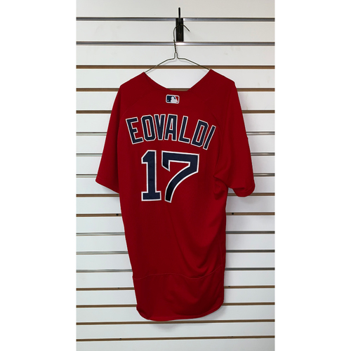 Photo of Nathan Eovaldi Team Issue 2019 Spring Training Jersey