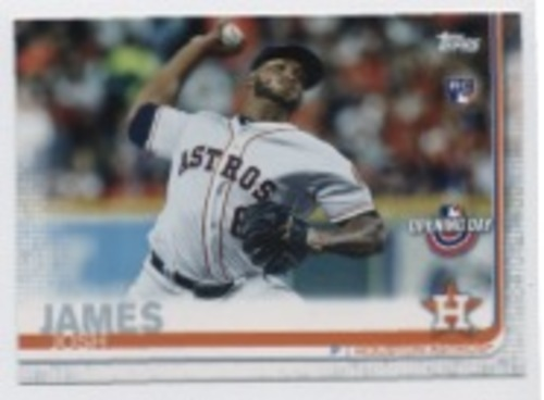 Photo of 2019 Topps Opening Day #181 Josh James RC