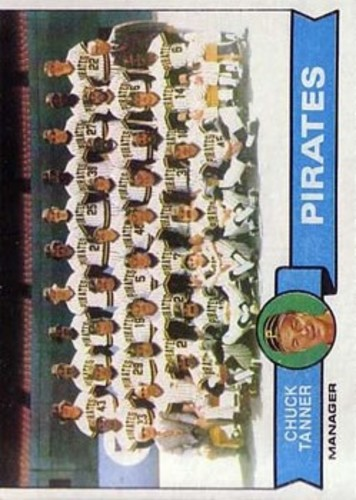 Photo of 1979 Topps #244 Pittsburgh Pirates CL/Chuck Tanner MG