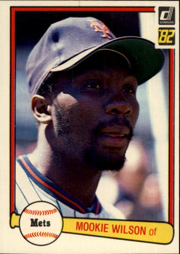 Photo of 1982 Donruss #175 Mookie Wilson