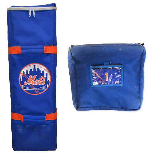 Photo of Amed Rosario #1 - Game Used Bat Bag - Final Regular Season Game of 2019 - Mets vs. Braves - 9/29/19
