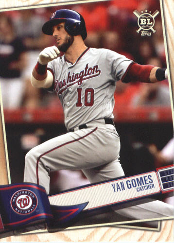 Photo of 2019 Topps Big League #288 Yan Gomes