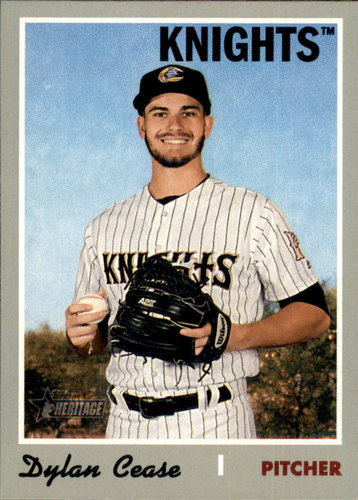 Photo of 2019 Topps Heritage Minors #155 Dylan Cease
