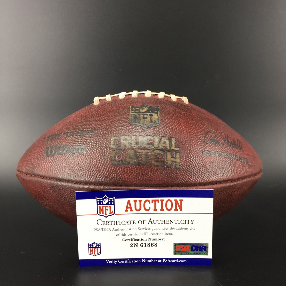 Crucial Catch - Chargers Game Used Football (10/13/2019)