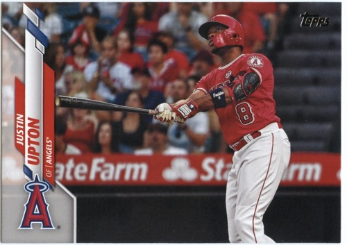 Photo of 2020 Topps #391 Justin Upton