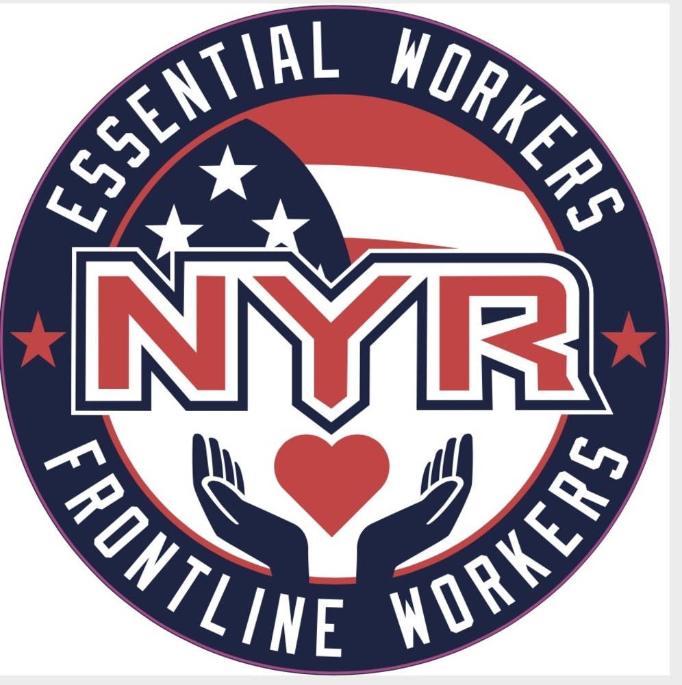 New York Rangers Essential Workers Commemorative Patch