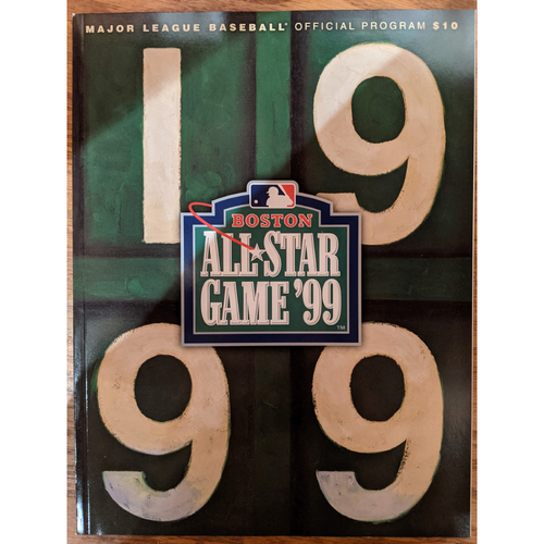 Photo of 1999 All Star Game Official Program