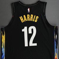 Joe Harris - Brooklyn Nets - Game-Worn City Edition Jersey - 2020-21 NBA Season