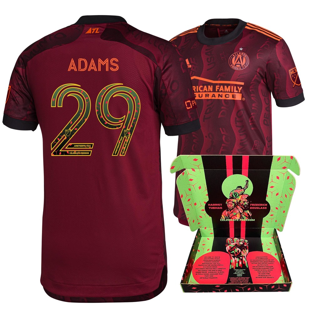 Mohammed Adams Atlanta United FC Player-Issued & Signed