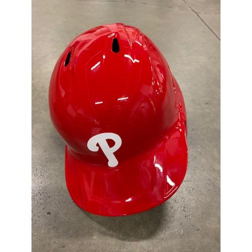 Photo of 2021 MLB Draft Used Helmet: Philadelphia Phillies