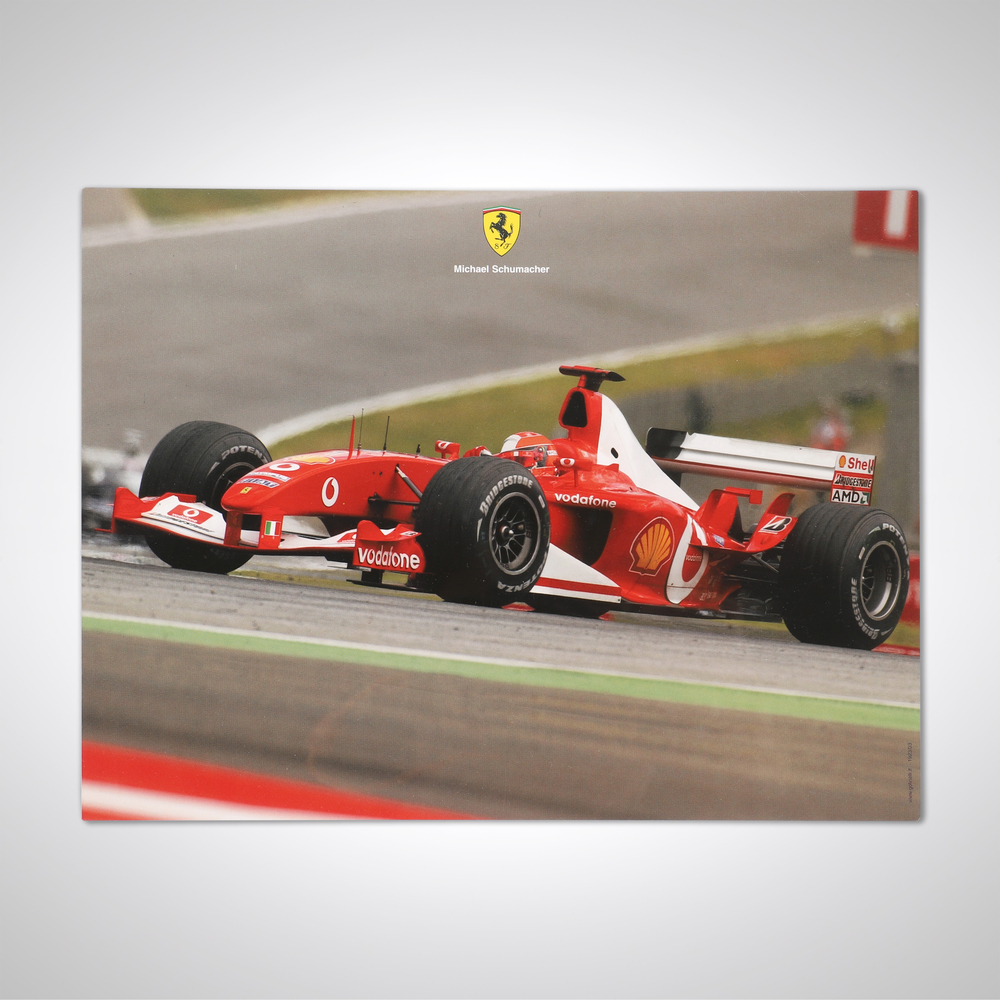 Official Large Ferrari 2003 Card