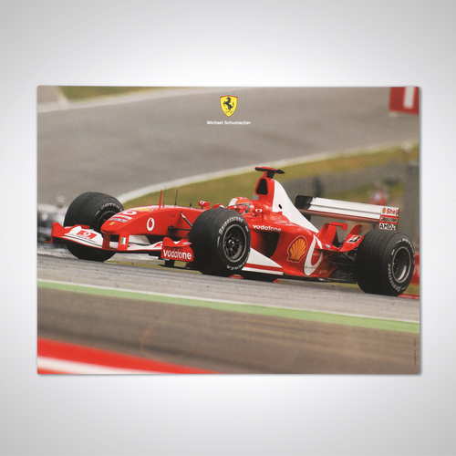 Photo of Official Large Ferrari 2003 Card