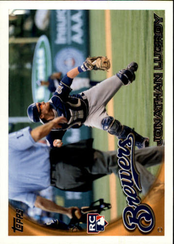 Photo of 2010 Topps Update #US143 Jonathan Lucroy RC