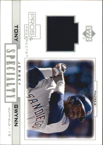 Photo of 2001 Upper Deck Pros and Prospects Specialty Game Jersey #STG Tony Gwynn