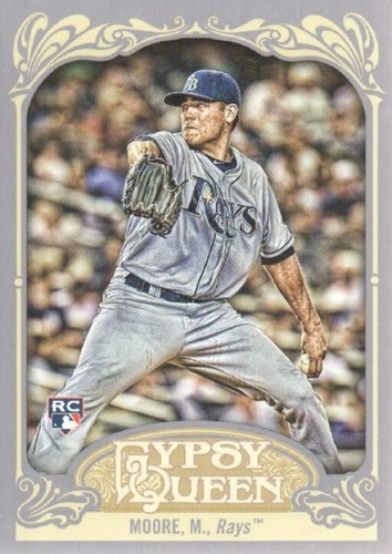Photo of 2012 Topps Gypsy Queen #6A Matt Moore RC