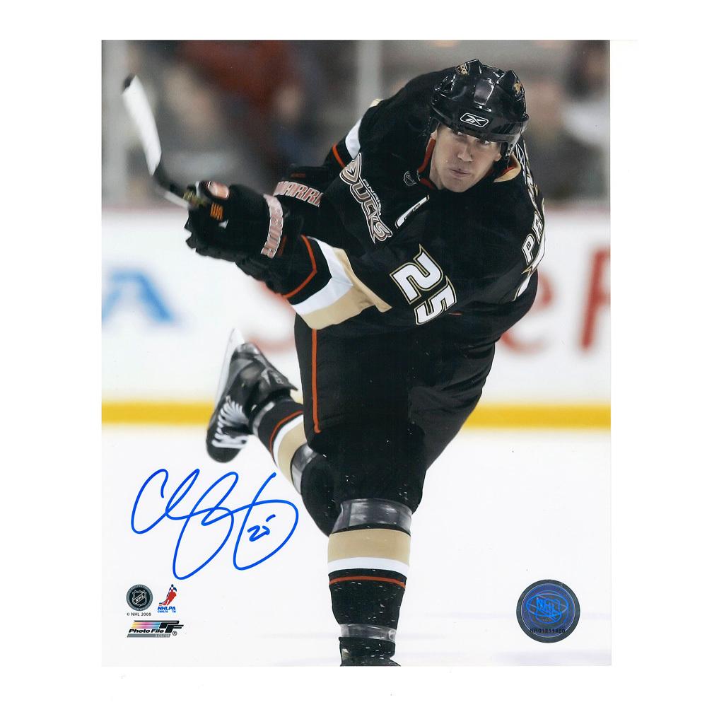 CHRIS PRONGER Signed Anaheim Ducks 8 X 10 Photo - 70173