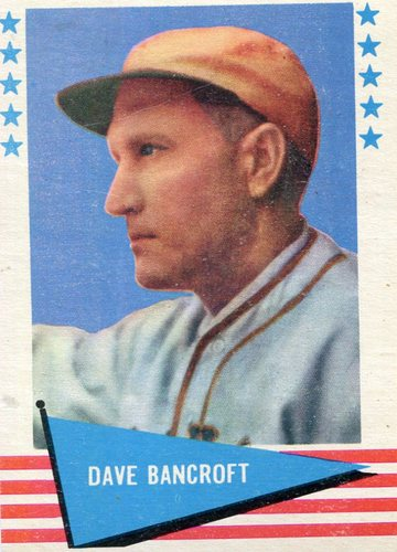 Photo of 1961 Fleer #7 Dave Bancroft Hall of Fame Class of 1971