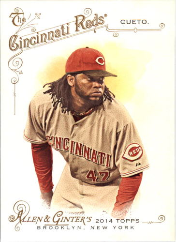Photo of 2014 Topps Allen and Ginter #69 Johnny Cueto