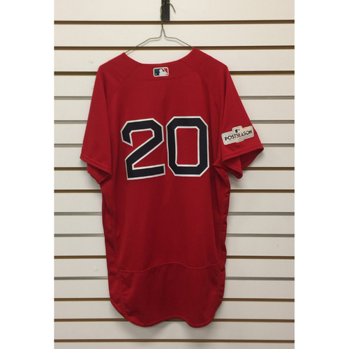 Photo of Ruben Amaro Game-Used September 29, 2017 Home Alternate Jersey