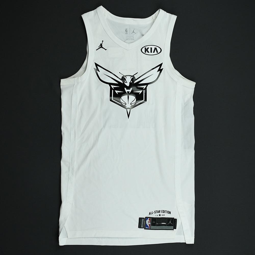 Kemba Walker - 2018 NBA All-Star Game - Team LeBron - Game-Worn Jersey - 1st Half Only