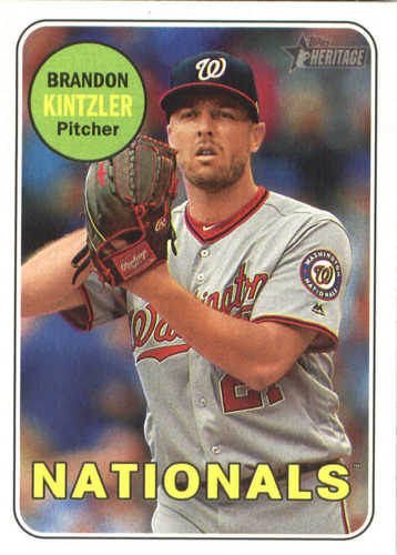 Photo of 2018 Topps Heritage #355 Brandon Kintzler