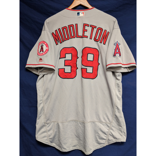 Photo of Keynan Middleton Game-Used Road Jersey