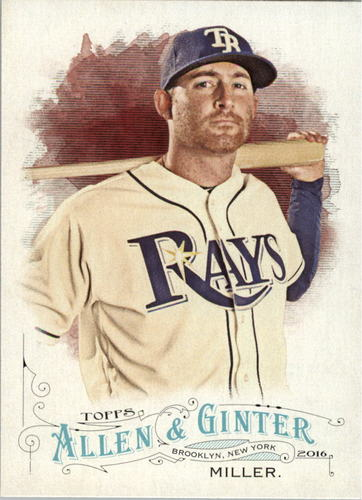 Photo of 2016 Topps Allen and Ginter #115 Brad Miller