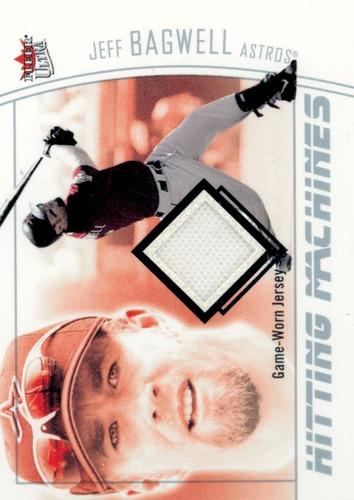 Photo of 2004 Ultra Hitting Machines Jersey Silver Jeff Bagwell