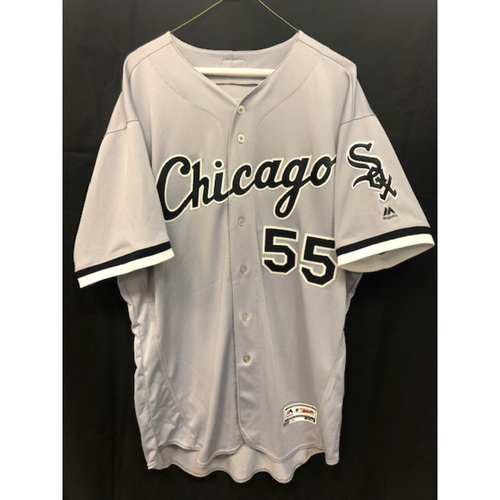 Carlos Rodon Team Issued Grey Road Jersey